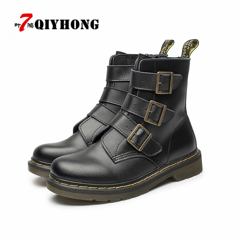 2017 Fashion Ankle Boots Winter / Fall Women Motorcycle Martin Boots Women Boots Snow Boots Oxfords Female Shoes Size 35-40 обогреватель в салон airline aah 12 01