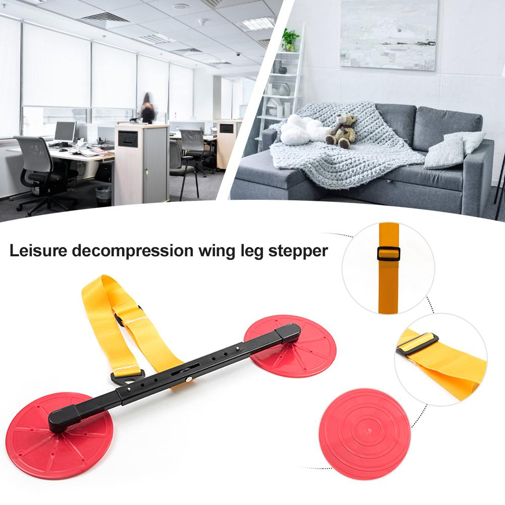 New Stepper Home Fitness Equipment Leisure Office Decompression Relieve Pressure Slimming Swing Leg Walker For Men And Women