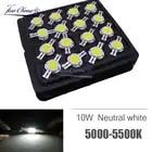 100 pcs Ad Alta Potenza Circuito Integrato del LED 10 W Neutral White 5000 k Perline di Illuminazione 9 12 v 1050mA Integrato matrix Lampadina COB Lampada Per Proiettore - 1