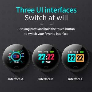 Image 4 - Smart Watch Sl1 Men Women Sports Fitness Activity Tracker Ip67 Waterproof Vibration Alarm Clock Smartwatch For Ios Android