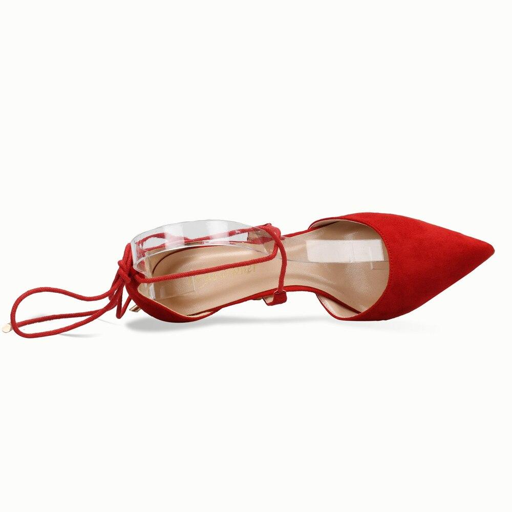Arrivent red 6cm Stylesowner Talons Haute Dames Heels Cuir 10cm Heels 8cm En 10 Nouveau Orange Suede Mince Pour Femmes Faux Lacent Heels Cm Chaussures Red orange Pompes Gladiateur EH9D2I