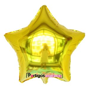 Image 4 - 1 סט 30 אינץ גדול כסף ירח 18 אינץ slive/זהב כוכב רדיד בלוני הליום globos יום הולדת מסיבת חתונה תינוק מקלחת דקור