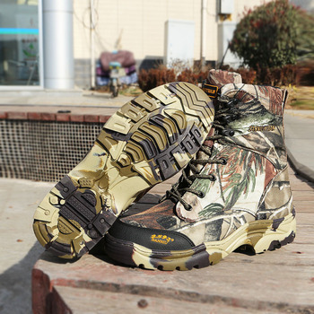 07 Boots Male Tactical Army Fans Help Tube Tactics Outdoors Hunting Desert Jungle Camouflage Camping Climbing Hiking Women Shoes