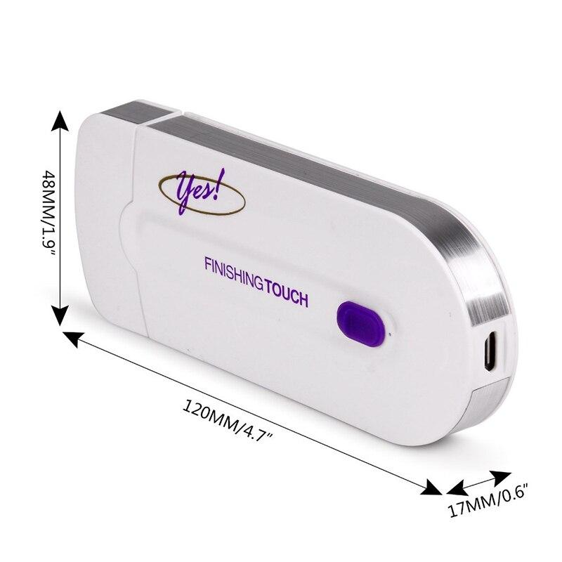 2 in 1 Epilator - Pain Free Instant Laser sensor Hair Remover 4