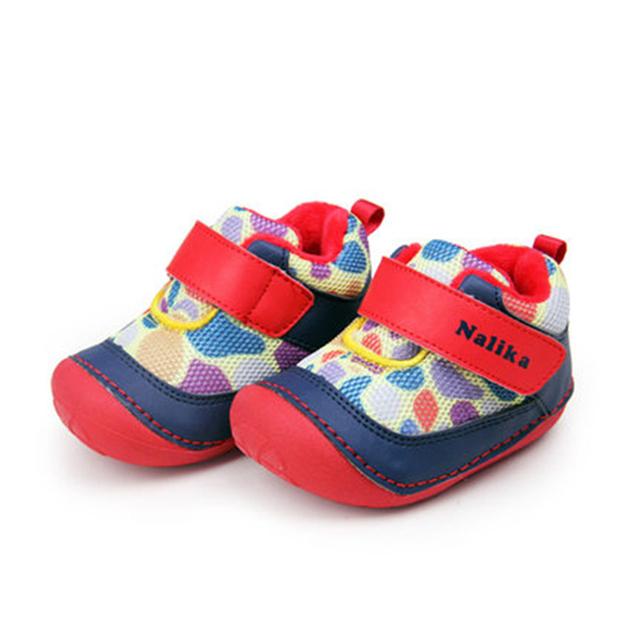 Primer Caminante del bebé Zapatos de Invierno Recién Nacidos Niños Niñas Calientes Bebek Ayakkabı Azul Zapatillas de Deporte Rojo Recién Nacido Primeros Caminante Calzado 70A1019