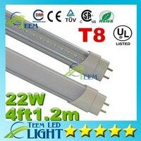 X10 CE RoHS UL 4ft 1 2m T8 22W Led Tube Light 2200lm 85 265V Led