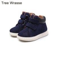 Tree Wrasse Winter Boy S Boots Children S Shoes 2017 Coral Fleece Children Boots Children S