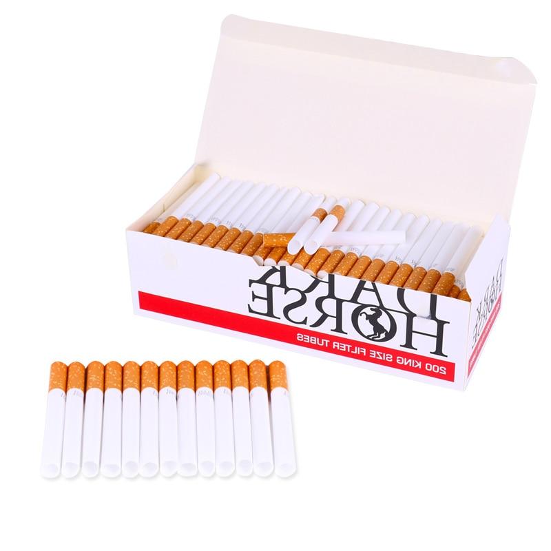 200 PCS European Cigarette Empty Tube Fittings 15MM Filter And 85MM Length Tube