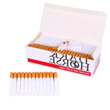 200 шт. пустые фитинги для сигарет Европейского образца, фильтр 15 мм и трубка длиной 85 мм