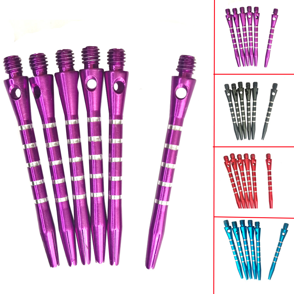 12PC 6PC 2BA Aluminium Re-Grooved Darts Shafts Stems Gripper Harrows Throwing Toy New Needle Darts Shafts Replacement Accessory