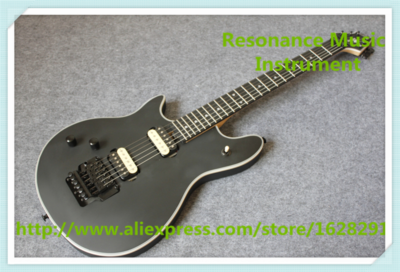 New Arrival Chinese Left Handed Matte Black Finish Wolfgang Guitars Electric With Rosewood Fingerboard high quality flag custom finish left handed es electric guitars china hollow body