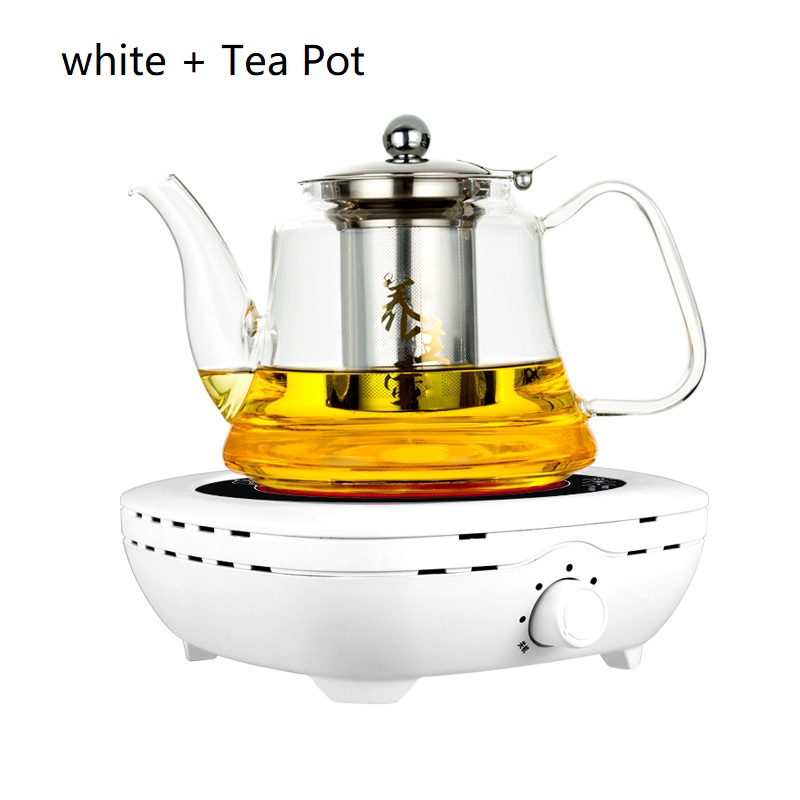 AC220 240V 50 60hz mini electric ceramic stove boiling tea heating coffee 800w power COOKER COFFEE HEATER WITH TEA POT