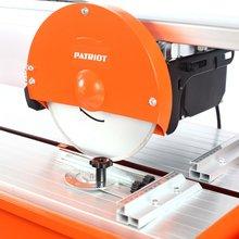 Плиткорез электрический настольный PATRIOT TC 900 (Мощность 800 Вт, диаметр диска 230 мм, глубина пропила при 45° 37 мм, глубина пропила при 90° 43 мм)