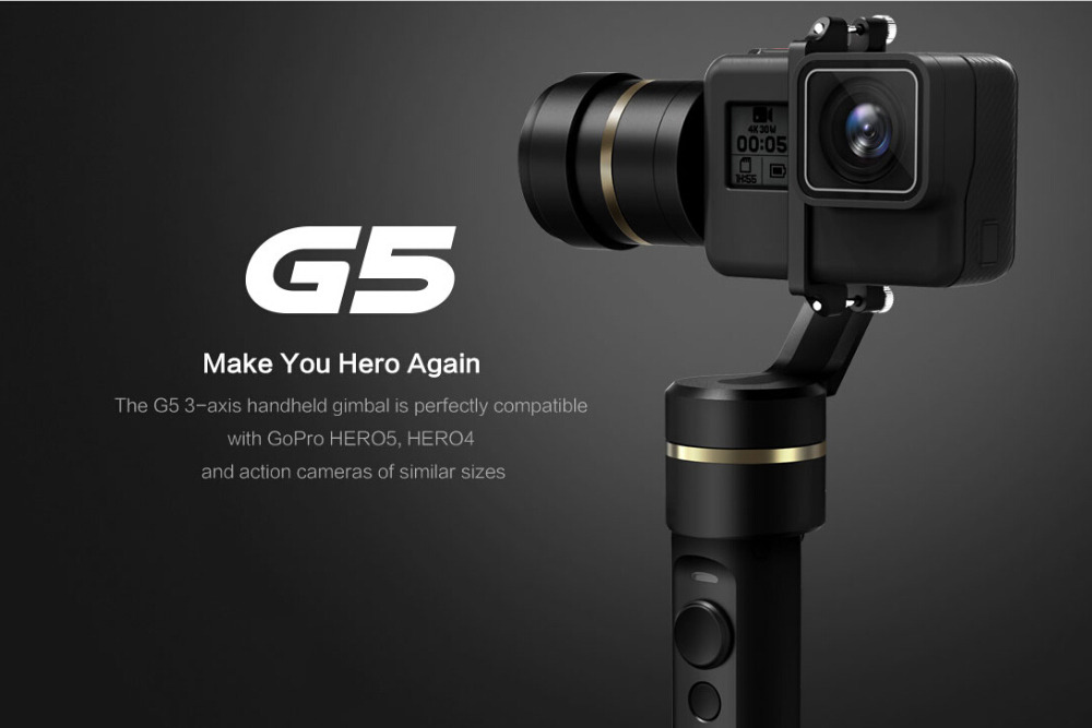 JMT Feiyu G5 Handheld Gimbal for GoPro HERO 5 4 Xiaomi yi 4k SJ AEE Action Cams Splashproof Bluetooth-enabled control Humanized comp cams 12 253 4 camshaft