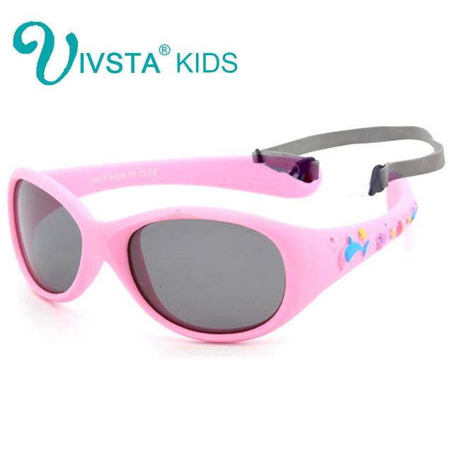 974dfaf7c70 IVSTA 851 Flexible TR90 little Baby Sunglasses boys 1 2 3 years small size Polarized  lenses mirror children sunglasses child