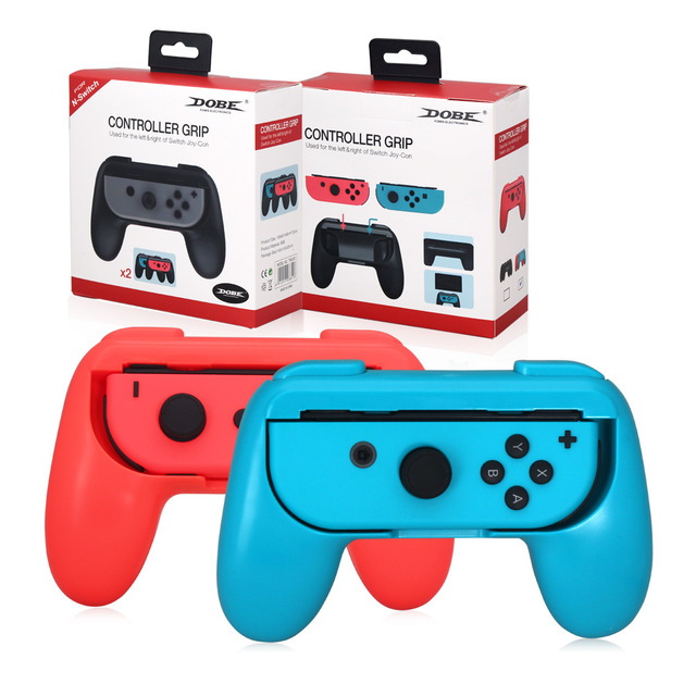 US $10 98 |Aliexpress com : Buy Joy Con Grip Kit for Nintendo Switch High  Quality Multi colour Wear resistant Joy con Handle for Nintendo