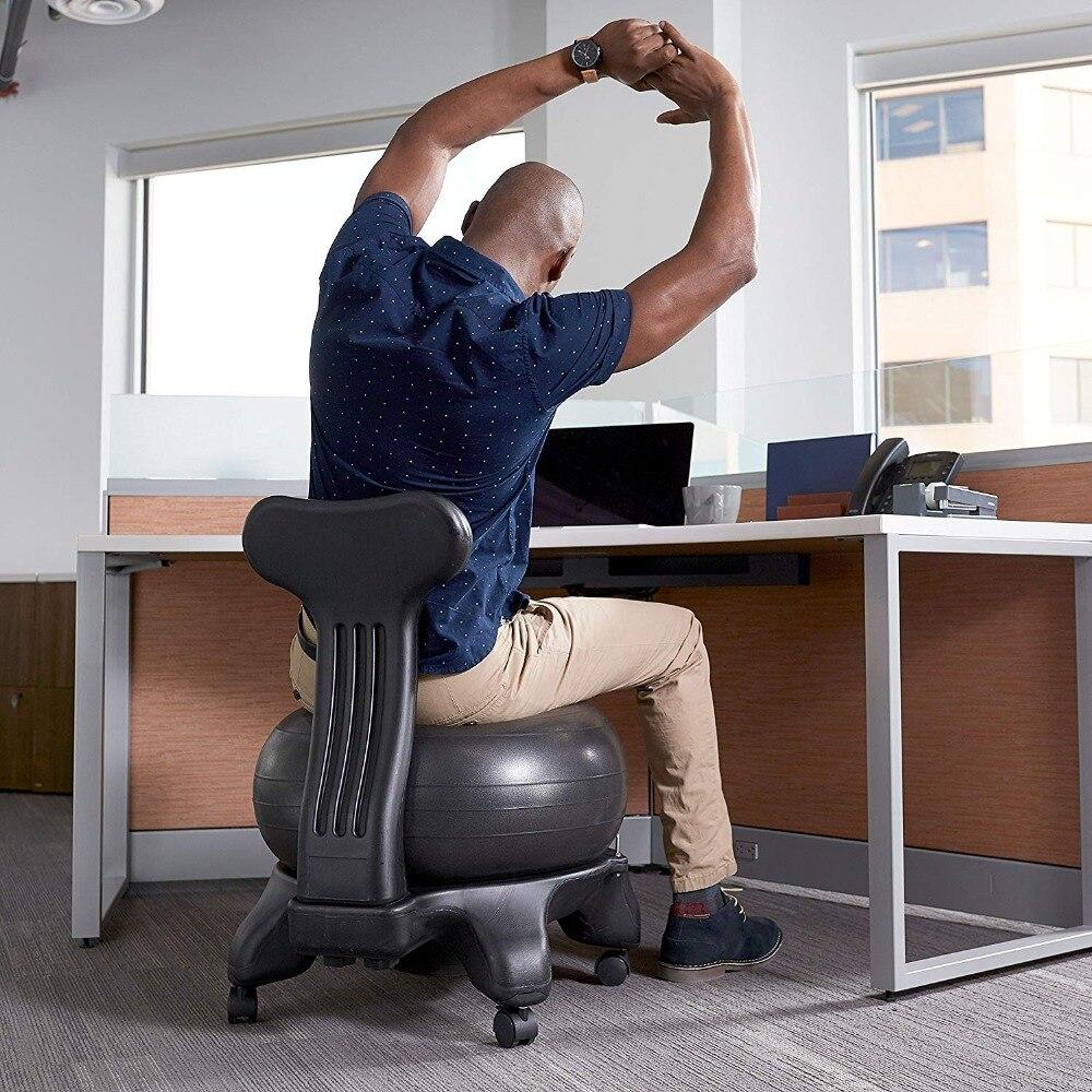 Bola equilíbrio Premium Cadeira Ergonómica para Casa