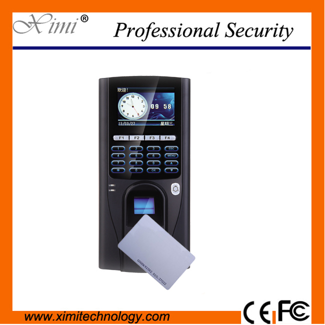 TCP/IP USB color screen fingerprint access controller biometric fingerprint access control system