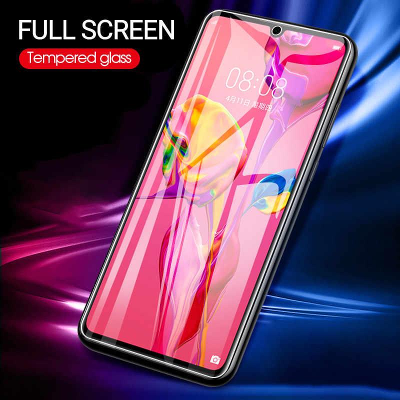Vorne Film Für Huawei P30 P20 P10 Mate 20 10 Lite P Samrt Plus 2019 Y5 Y6 Y7 Y9 2019 mit Weißen Rand Beseitigen Überarbeitung Flüssigkeit