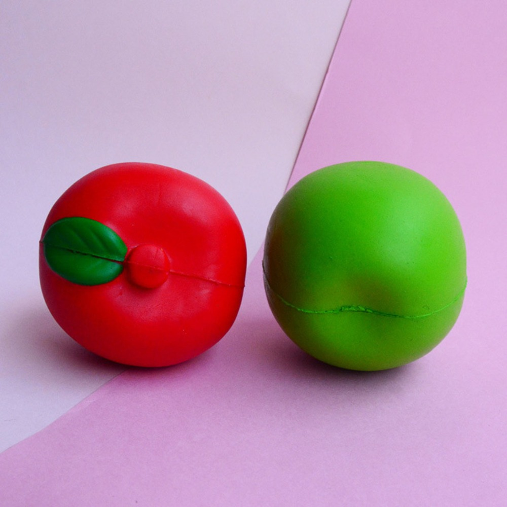 Kawaii Jumbo Squishy Watermelon Half Lemon Apple Slow Rising Squeeze Soft Stretch Scente ...