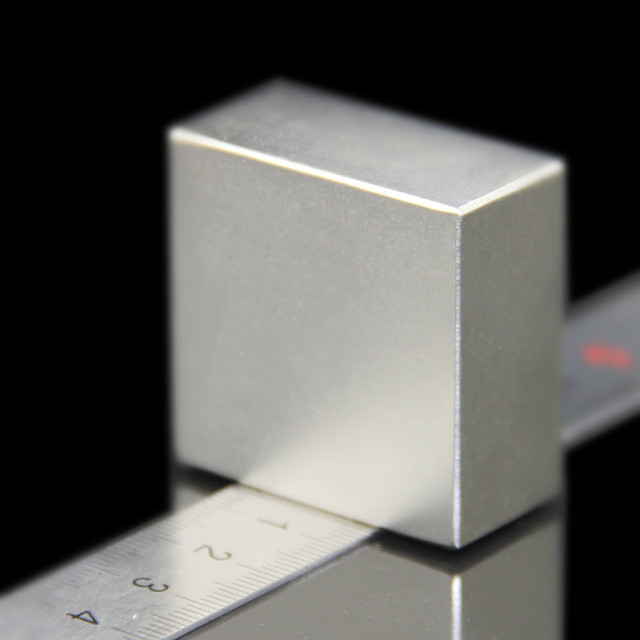 40x40x20mm Super Powerful Strong Rare Earth Block Magnet