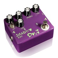 Dr J Shadow Echo Delay Electric Guitar Effect Pedal True Bypass Hand Made Analog D 54