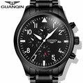 GUANQIN Watch Men Luxury Brand Automatic Self-Wind Mechanical Sport Watches Mens Fashion Waterproof Wristwatch relogio masculino
