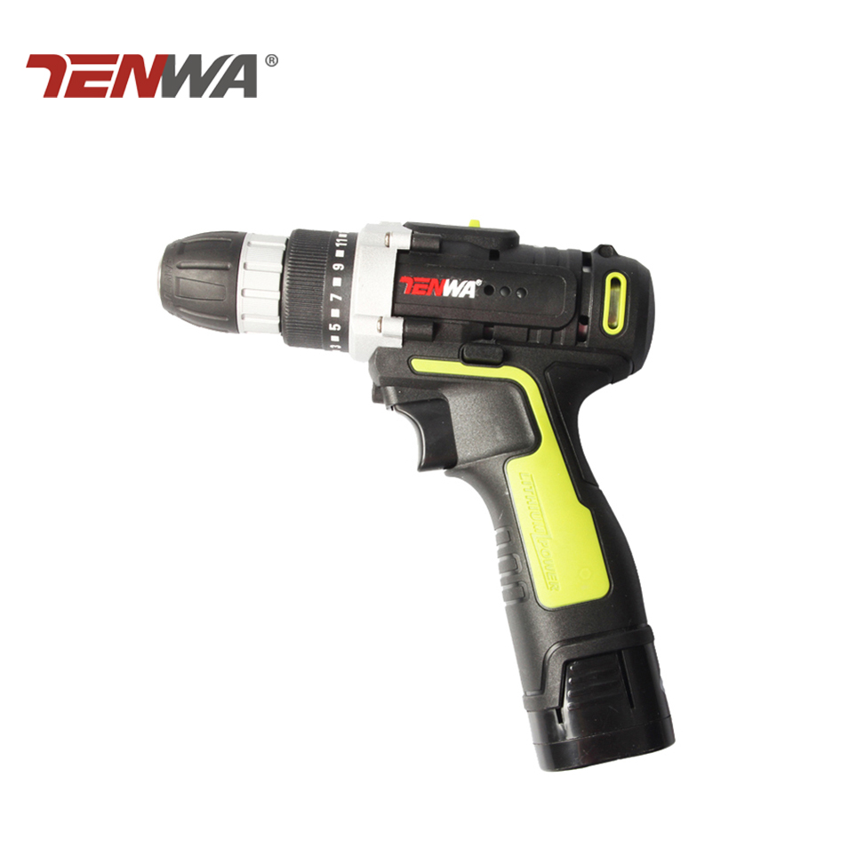 Tenwa 16.8v Electric Drill Lithium-Ion Battery 2 speed New Design Cordless Drill with led working light Mini Screwdriver DIY drill buddy cordless dust collector with laser level and bubble vial diy tool new
