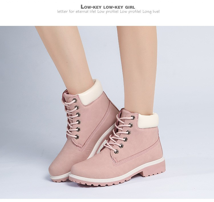 autumn Plush Snow Boots Women Wedges Knee-high Slip-resistant Boots Thermal Female Cotton-padded Shoes Warm Size G2W 24
