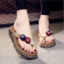 New  Summer Style E Shoes Women Sandals Shining Good Quality Snake Fashion Casual Solid Slippers Flip Flops Free Shipping