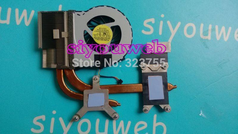 все цены на  Free shipping , original CPU heatsink and FAN 622032-001 637609-001 609965-001, for hp dv6 dv6t dv6-3000 dv7-4000  онлайн