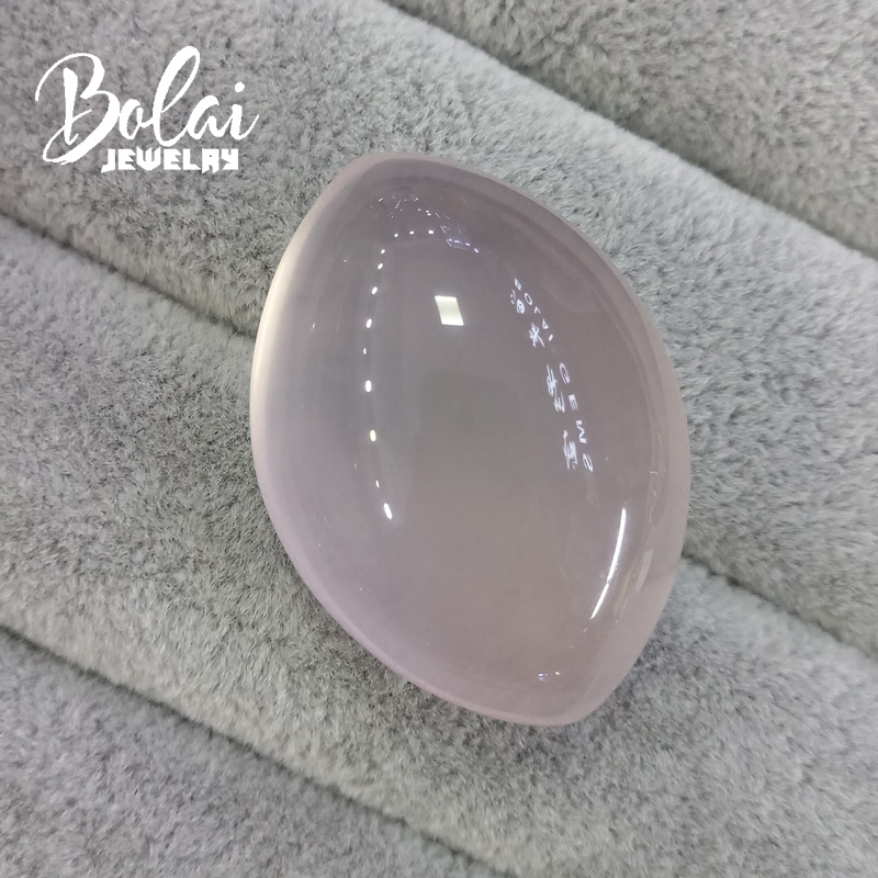 Bolaijewelry,100% Natural big baroque stones rose quartz 28.91*40.92*18.25mm 144.75ct loose gemstone for jewelry bolaijewelry 100