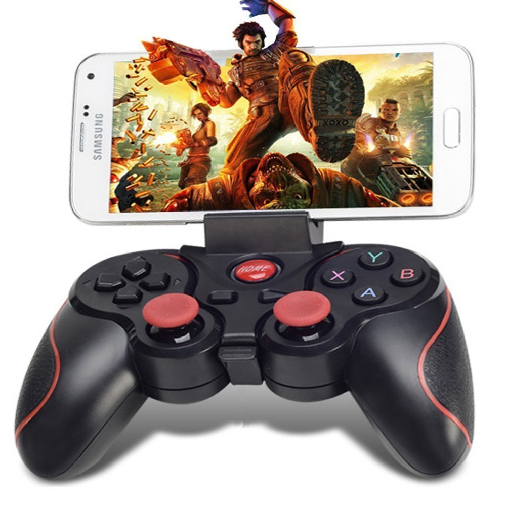 T3 Wireless Joystick Bluetooth 3.0 Gamepad Gaming Controller Gaming Remote Control for Tablet PC Android Mobile Smartphone
