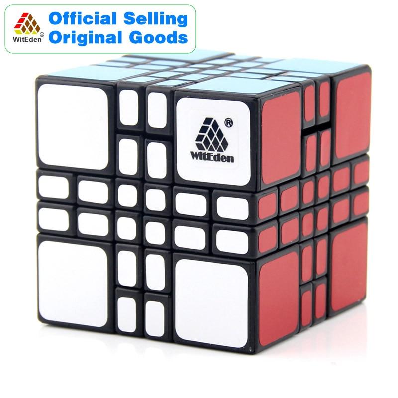WitEden 4x4x4 Mixup Plus Magic Cube 4x4 Cubo Magico Professionnel Vitesse Neo Cube Puzzle kostka Antistress Fidget Jouets Pour Garçons