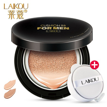 LAIKOU Men BB Cream Concealer Face Natural Whitening Skin Care Long Lasting Oil Control Sunscreen Makeup 15g+15g