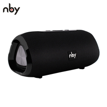 NBY 6660 Blueooth Speaker Portable Wireless Speaker with Mic 10W Column Stereo Sound Speakers For Phones PC
