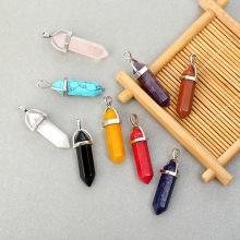 Meajoe Трендовое ожерелье с кулоном из натурального кристалла, аксессуары 25 цветов, ювелирные аксессуары для женщин