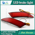 Estilo do carro Adesivos Traseiros Luzes de Freio de LED Luzes de Advertência caso Para Ford Focus 2012 2013 Acessórios de Boa Qualidade