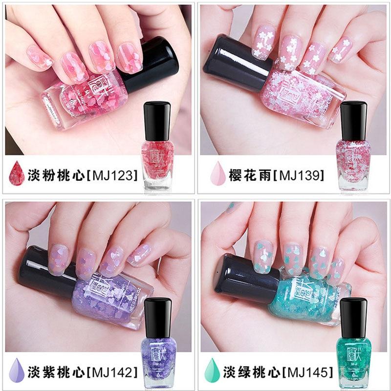 Hoge Kwaliteit Glitter Stempel Poolse Nail Art Pen Hart Patroon 6