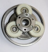 1Set 36T Gear Diameter:38mm Thickness:12mm High-speed Electric Vehicle Motor Nylon Gear+Gear Ring+Clutch