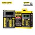 Digicharger tk original novo nitecore i4 18650 carregador de bateria universal para aa aaa 26650 14500 li-ion baterias de lítio de carregamento