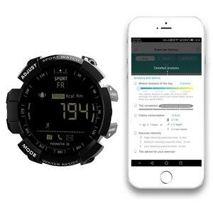 Image 5 - LOKMAT Smart Watch 2020 bluetooth digital men clock Pedometer smartwatch Women Waterproof IP68 Sport For ios Android Phone