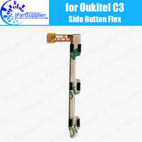Oukitel c3 botão lateral cabo flexível 100% original power + botão de volume cabo flex peças reparo para oukitel c3 telefone