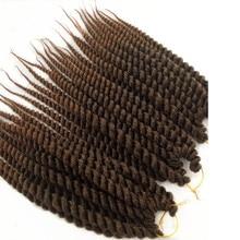 5 шт. Pervado волосы устойчивые синтетические крючком Гавана твист волосы плетение наращивания 12 дюймов 12 корней/75 г/упак. Cabelo предварительно косички