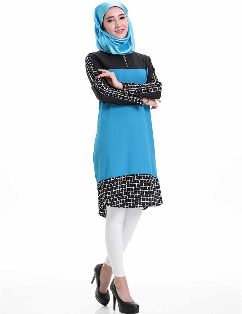 Abito musulmano Chiffon turco abbigliamento donne islamiche di abbigliamento abaya in dubai vestito islamico hijab B33145