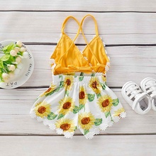 Baby Clothing Dresses Summer Baby Girls Dresses Embroidery Sleeveless Kids Clothing Cotton Print Floral Infant Girl Dresses summer floral girls clothes sleeveless cotton trumpet pattern girls dresses fashion floral backless kids girls clothing