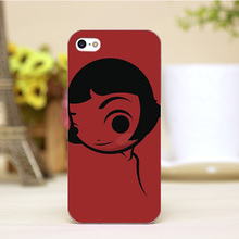PZ0004 43 2 Cartoon For Amelie Design Customized cellphone transparent cover cases for iphone 4 5