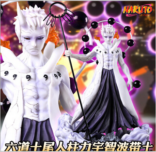 25cm naruto Uchiha Obito action figure toys collection Christmas gift doll no box new hot 17cm naruto uchiha itachi rise again action figure toys collection doll christmas gift with box