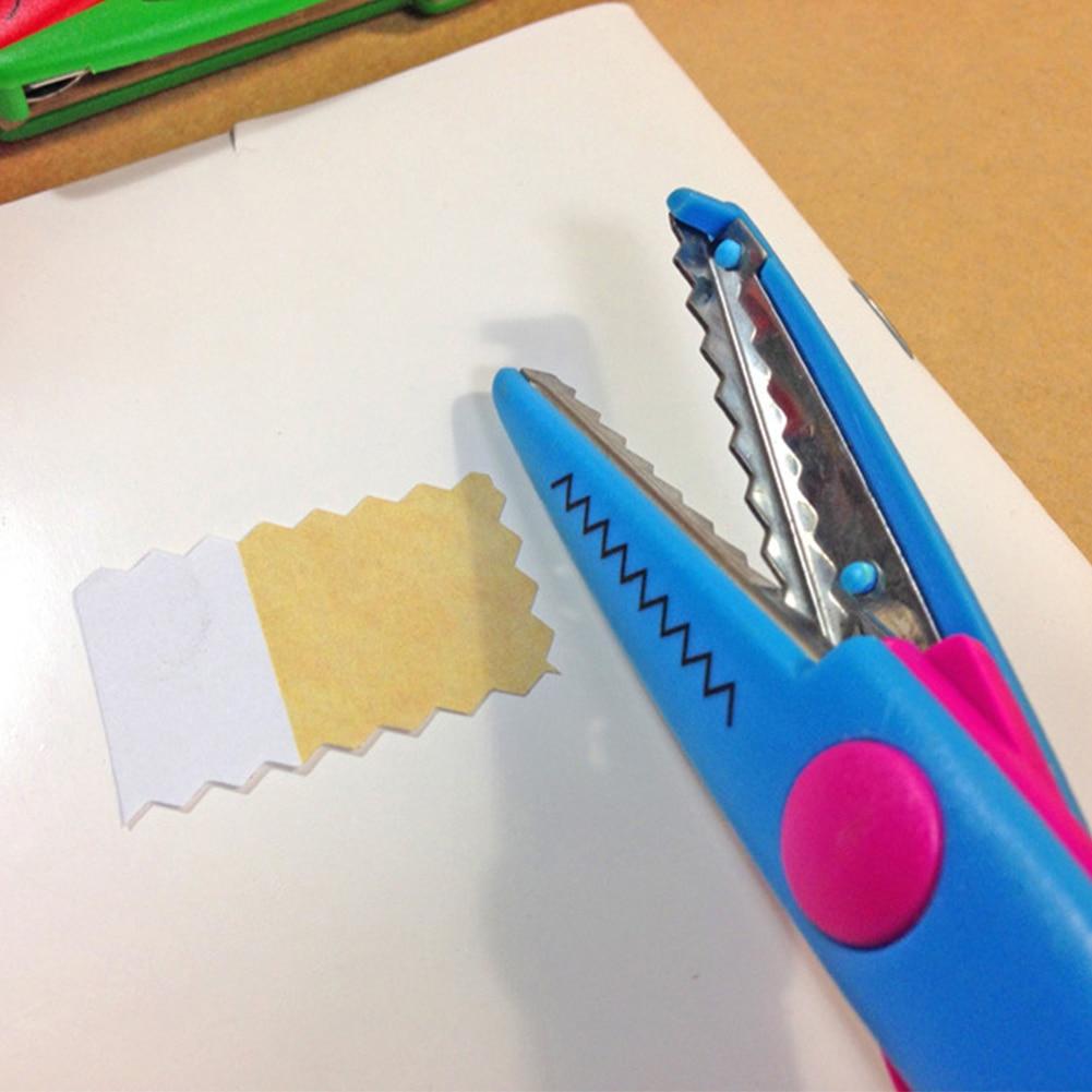 6pcs Creative Cut Pictures Paper Edging Scissors Set Diy For Kids