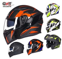 fashion hungry wolf brand Motorcycle racing helmet GXT G902 undrape open face motorbike moto off road flip up safety helmets